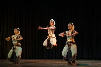Vertika Srivastava, Krithika Rajkumar and Akshaya Rajkumar