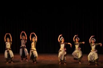 Sreyashi Dey, Ishika Rajan, Kritika Rajan, Vertika Srivastava, Krithika Rajkumar and Akshaya Rajkumar